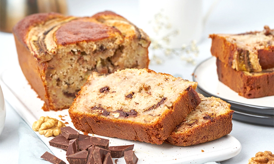 Banana Bread Light